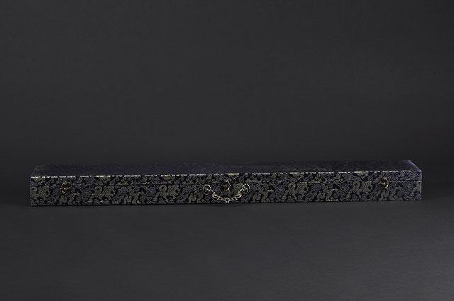 FULLY HANDMADE CLAY TEMPER CLOUD WAVE SAMURAI KATANA SWORD