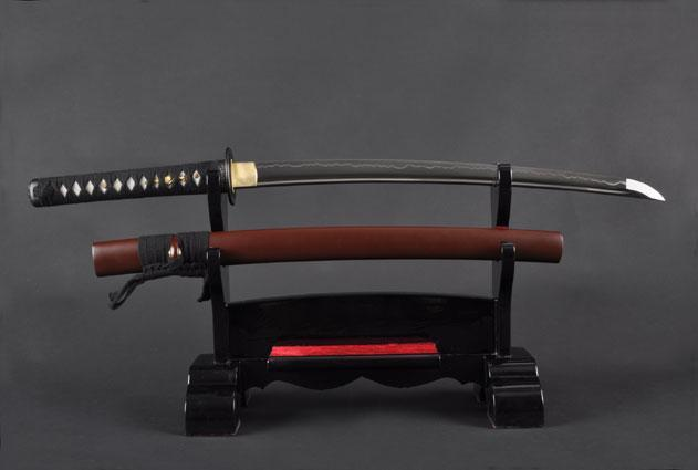 FULLY HAND FORGED FULL TANG JAPANESE SAMURAI WAKIZASHI SWORD - buyblade
