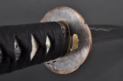 FULLY HAND FORGED PRACTICAL DRAGONFLY SAMURAI KATANA SWORD - buyblade
