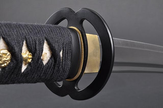 FULLY HANDMADE MUSASHI STAINLESS JAPANESE KATANA TRAINING SWORD - buyblade