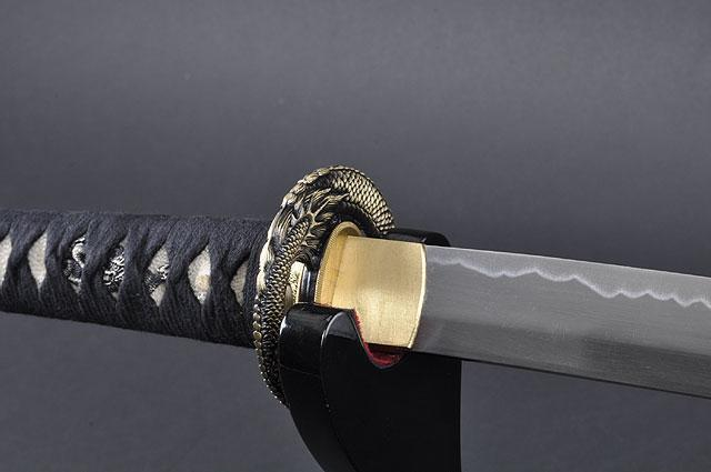 FULLY HANDMADE PRACTICAL DRAGON JAPANESE SAMURAI KATANA & WAKIZASHI SWORDS - buyblade