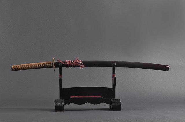 FULLY HAND FORGED CLAY TEMPER PRACTICAL SAMURAI KATANA SWORD - buyblade