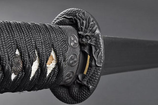 FULLY HAND FORGED PRACTICAL DRAGON JAPANESE TANTO SWORD - buyblade