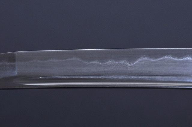 FULLY HANDMADE CLAY TEMPERED DAMASCUS EMPIRE WHEEL SAMURAI WAKIZASHI SWORD - buyblade