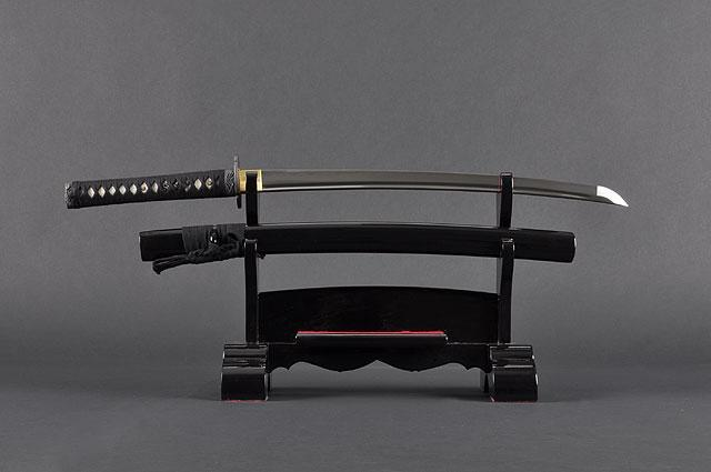 FULLY HAND FORGED PRACTICAL BAMBOO JAPANESE WAKIZASHI SWORD - buyblade