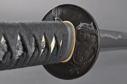 FULLY HAND FORGED FULL TANG PRACTICAL JAPANESE SAMURAI KATANA SWORD - buyblade