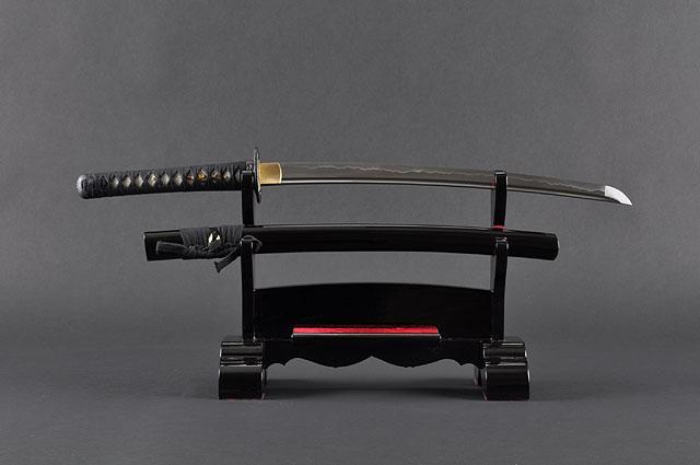 FULLY HAND FORGED WARRIOR JAPANESE SAMURAI WAKIZASHI SWORD - buyblade