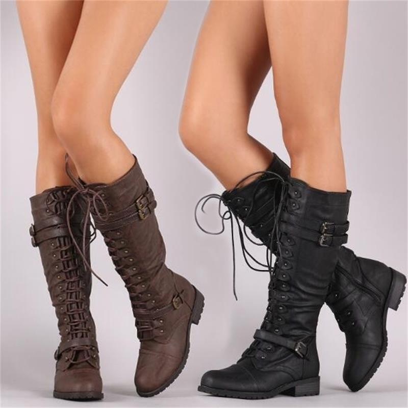 Knee High Women Boots-Boots-Burner Shop