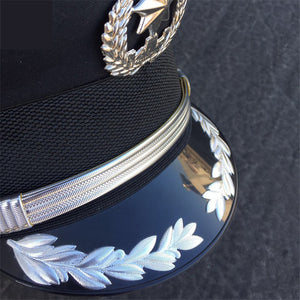 Officer Style Unisex Military Hat-Hats-Burner Shop