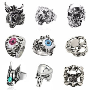Steampunk Rings-Rings-Burner Shop