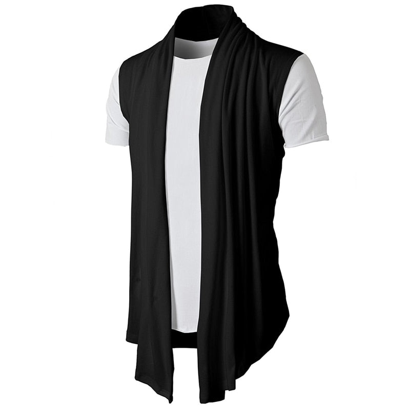 Sleeveless Cardigan-Cardigan-Burner Shop