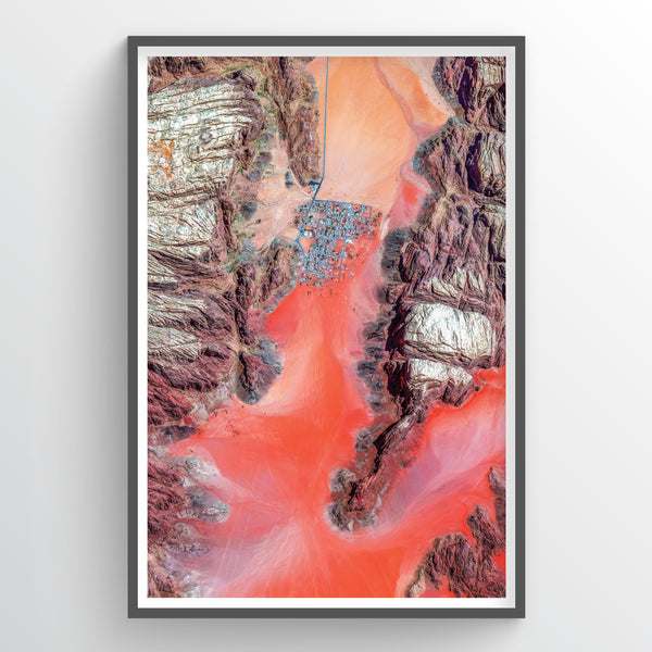 Wadi Rum Earth Photography - Art Print