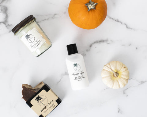 Pumpkin Spice Scent Coconut Wax Candle