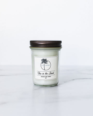 Toes in the Sand Scent Coconut Wax Candle