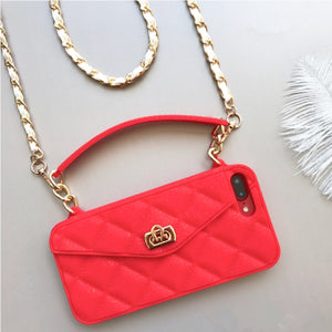 CROSS-BODY BAG WITH MOBILE PHONE CASE