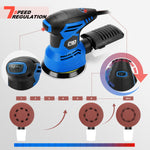 Electric sanding machine