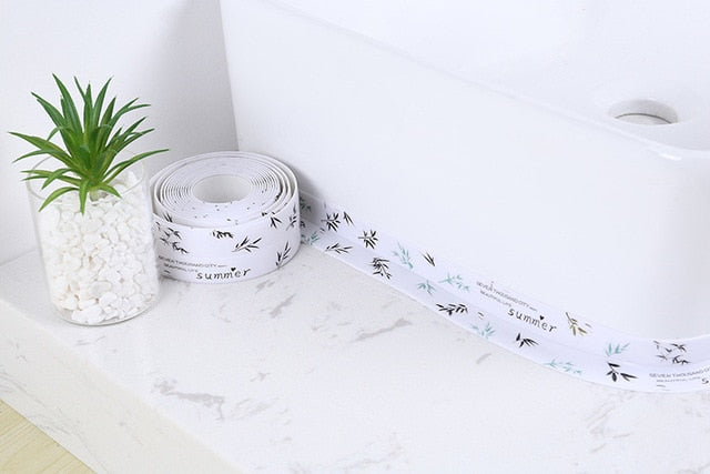 Professional Self-Adhesive Caulk Strip - 【 Anti-Mildew Tape】