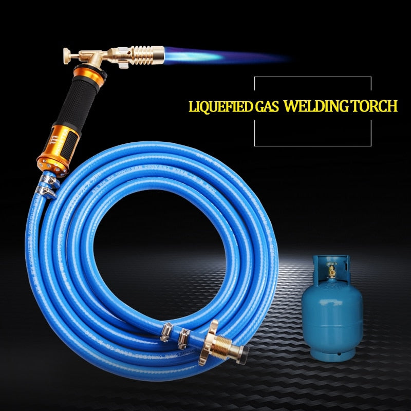 ELECTRONIC IGNITION LIQUEFIED GAS WELDING GUN TORCH KIT WITH 3M HOSE
