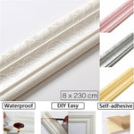 Self-adhesive 3D Wall Edging Strip (2020 products)