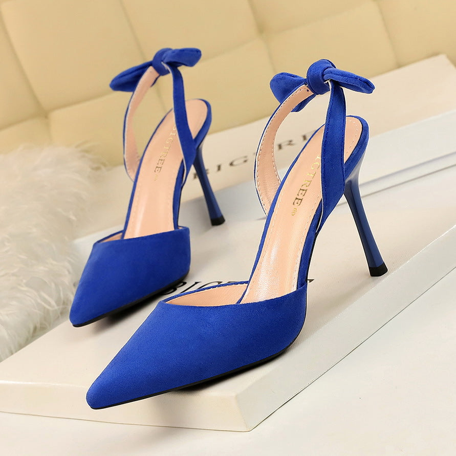 Fashion Sexy Super High Heels Women Shoes Woman Slingback Elegant Shoes Sandals