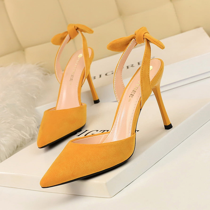 Fashion Sexy Super High Heels Women Shoes Woman Slingback Elegant Shoes Sandals 7