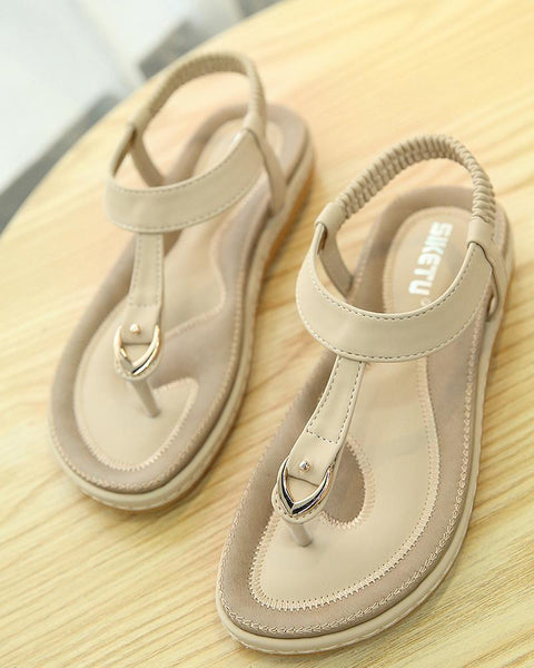 2019 new large size comfortable national style sandals comfortable female