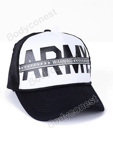 Army Printing for Men and Women New Mesh Baseball Cap In Spring and Summer Outdoor Sunshade Hat