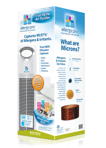 Envion Allergy Pro AP200 HEPA Filter  Captures 99.97% of all allergens and irritants ENERGY STAR 350 Sq Ft Capacity - Best-AirPurifier