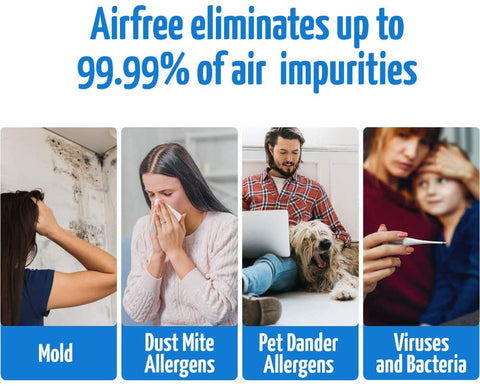 Airfree Tulip 1000 filterless Air Purifier Thermodynamic Thechnology - Best-AirPurifier