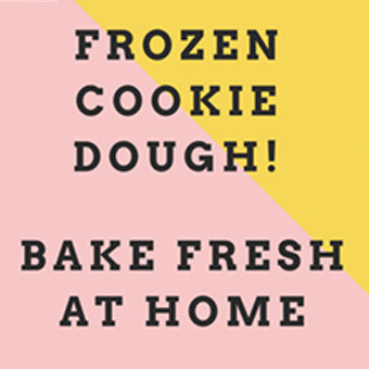 Frozen Cookie Dough (750g)