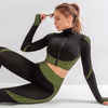 Woman Seamless Running Tracksuit Fitness Wear - Extra Fitness