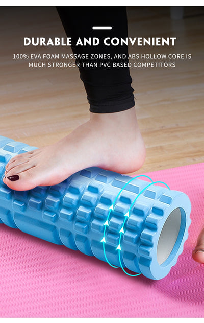 Pilates Foam Muscle Massage Roller - Extra Fitness