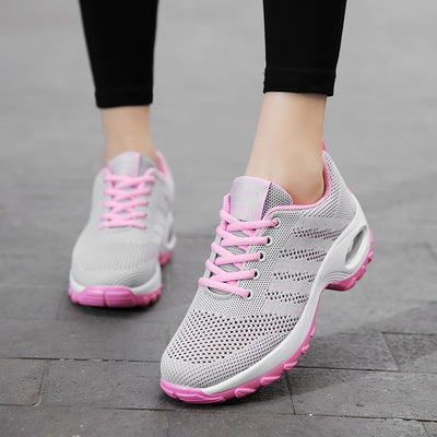 Women's Mesh Running Shoes for Outdoor - Extra Fitness