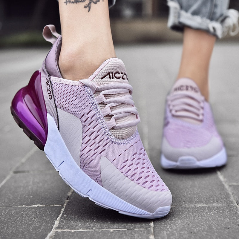 Breathable Cushion Running Shoes for Women - Extra Fitness