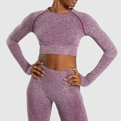 Women Gym Clothing Fitness Long Sleeve Tracksuit - Extra Fitness