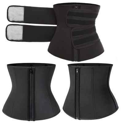 Sauna Shaper Waist Trainer Slimming Belt for Women - Extra Fitness