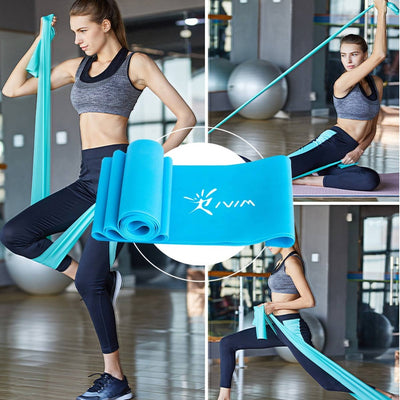 Elastic Stretch Exercise Rubber Band Home Fitness Equipment - Extra Fitness