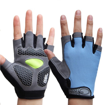 Men & Women's Sports 3D GEL Padded Anti-Slip Gloves - Extra Fitness