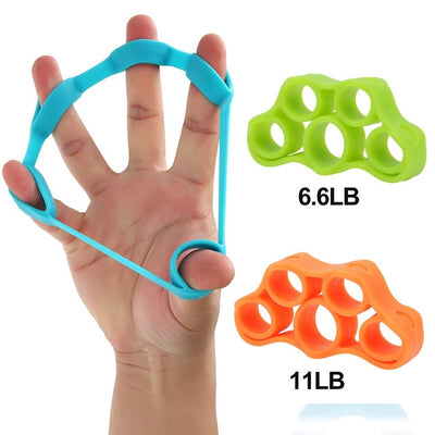 Finger Pull Ring Resistance Stretch Bands - Extra Fitness