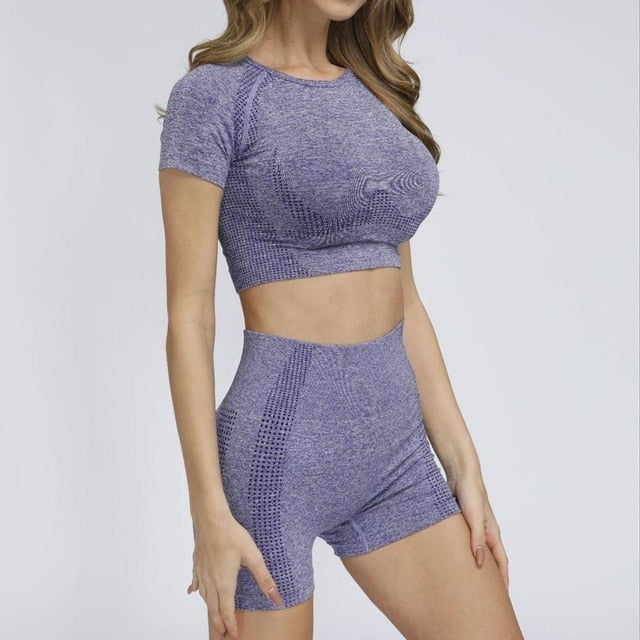 Seamless Gym/Workout Sportswear for Women - Extra Fitness