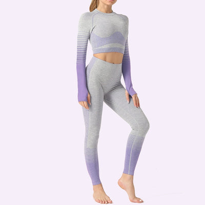 Women's Vital Seamless Yoga Fitness Leggings for Sports - Extra Fitness