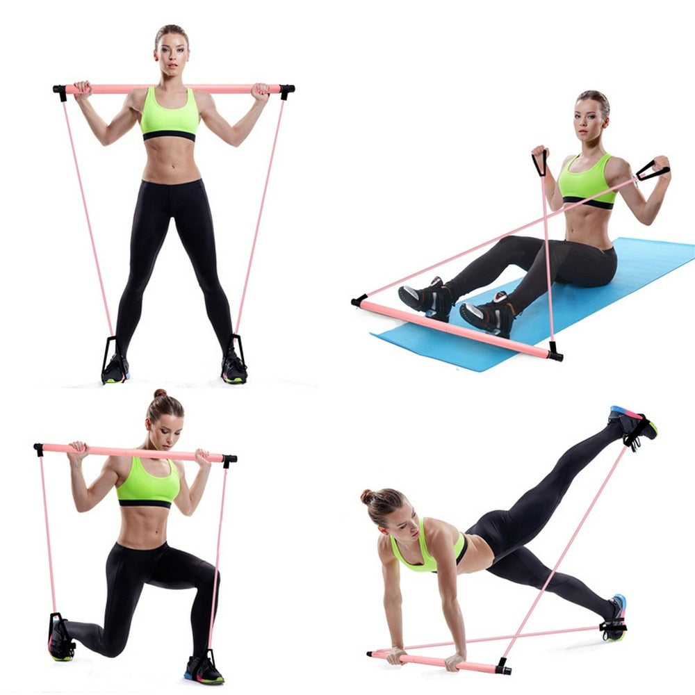 Women's Yoga Pull Resistance Band for Home Workout