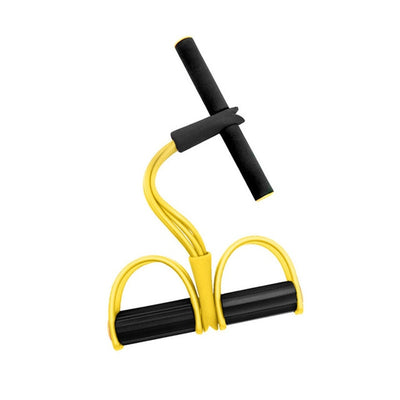 4 Tube Pedal Exerciser Sit-up Pull Rope for Women - Extra Fitness