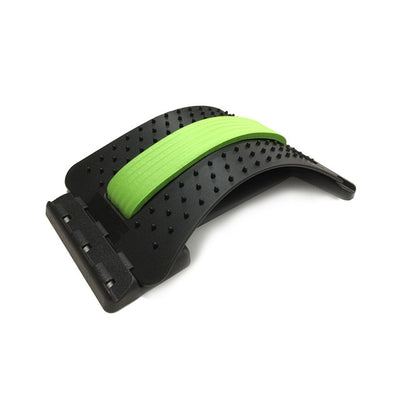 Back Stretching Equipment and Spinal Pain Release Corrector - Extra Fitness
