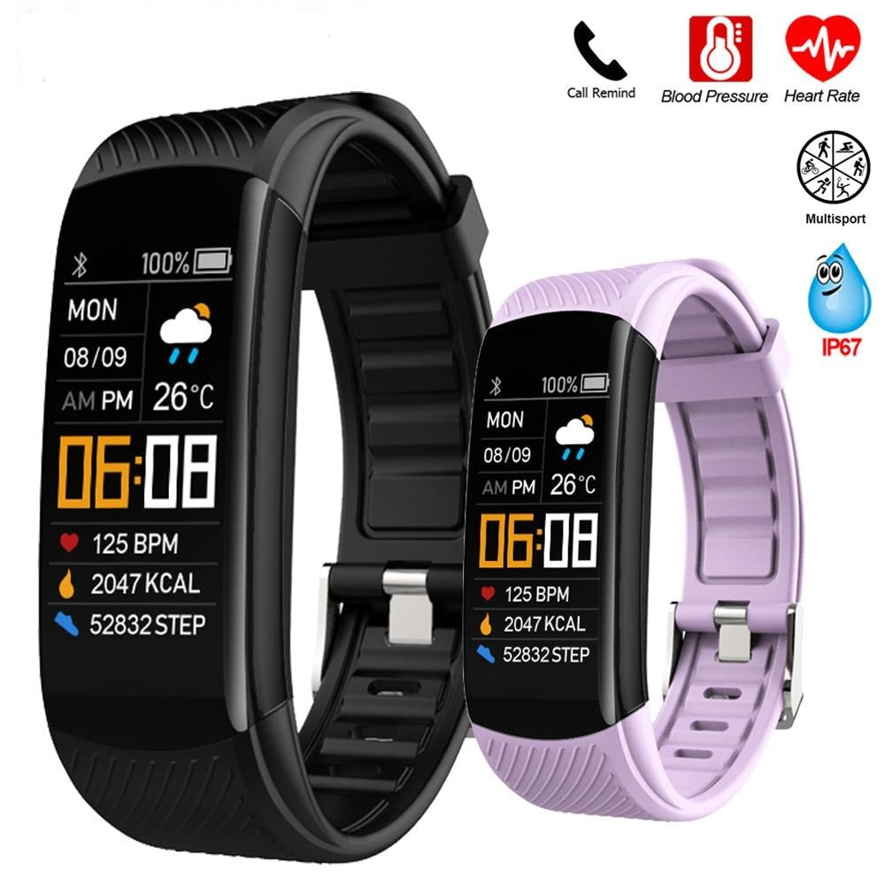 Real-time Monitor Smart Watch/Bracelet for Women