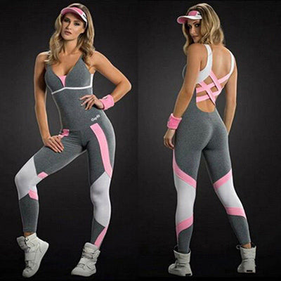 2020 Backless Sport and Workout Tracksuit - Extra Fitness