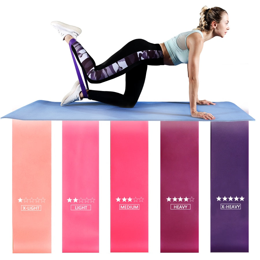 Pilates Sport Resistance Fitness Bands for Women - Extra Fitness