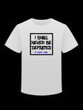 I Shall Never Be Defeated Tee