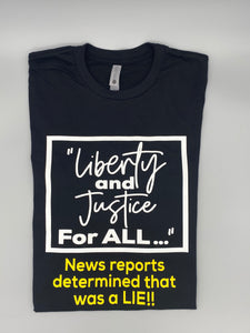 Liberty & Justice 2 Tee
