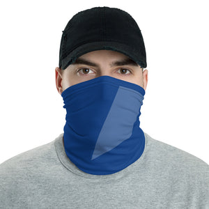 Blue Polygon Neck Gaiter